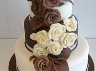 "Wedding Cake, Chocolate & Brown Cakes / Simply gorgeous chocolate cakes ... both chocolate fondant and  gorgeous molded chocolate here ... I have a seperate board ""Wedding Cake, White Chocolate"" for white chocolate cakes! and another for ""Wedding Cake, Dessert Style"" which includes less formal Chocolate Cakes brimming over with fresh fruit, Profiteroles, Croquembouche and the latest in ""naked"" cakes .... wow! who knew chocolate could be so elegant!"