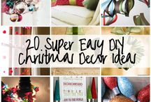 Christmas crafts &decor