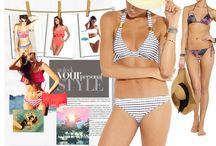 Moda Baño / Todos los consejos de estilo para el hombre y para la mujer para encontrar aquel bikini o bañador más favorecedor.