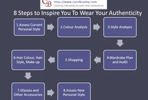 8 Steps To Inspire You To Wear Your Authenticity / Overview of Carol Brailey Image Consulting's 8 steps we follow to inspire individuals to wear their authenticity
