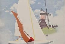 Holland vintage posters