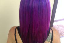 My hair pins / Hair I've done