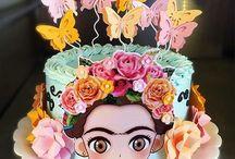 Frida Kahlo cakes