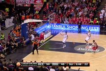NBA & Euroleague highlights / The best highlights of NBA and the euroleague competition