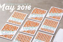 Paper Pumpkin May 2016 May Manly Occasions / May 2016 Paper Pumpkin Kit
