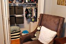 Clutter-less Closets