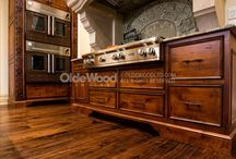 Gorgeous Traditionally-Milled Hardwood Floors / Old growth wide plank flooring traditionally milled from mature, fallen, or standing dead trees. / by Olde Wood Limited