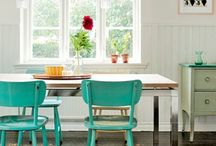 thoughts about colored chairs / by Juliette Rousseau