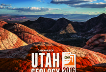 2016 Calendar of Utah Geology / Featuring scenic photographs highlighting Utah's geologic diversity. The photographs were taken by UGS employees who are often on assignment in some of the state's most interesting and unique locations. Pictures are accompanied by geologic descriptions and location information. The calendar is available at the Natural Resources Map & Bookstore.