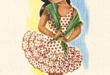 postales flamencas