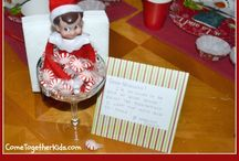 elf on the shelf (sparkles) / by Emily Miners