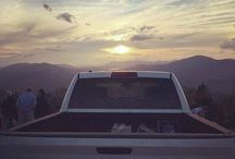 Not much beats a sunset ride through #RamCountry. (Photo Credit: Cory O.) - photo from ramtrucks