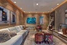 Efeito concreto traz modernidade para a decoração - veja como fazer!