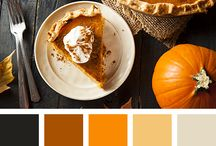 Food photography color palette