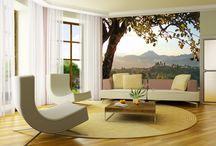 Living-room murals / Living room murals brings any interior to life.