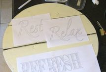 Lettering for projects / by Holly Mitchell