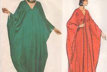 платья-балахоны