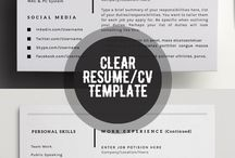 Resume/CV design inspiration