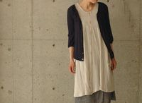 japanese and Boho style / sewing patterns and style ideas