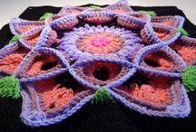 Crochet Flower 3D Granny Square 2