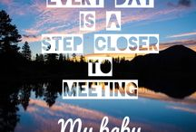 PREGNANCY POSITIVITY / Positive affirmations, thought provoking, motivational and inspiring quotes.