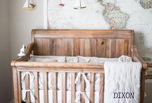 Nautical decor, nautical nursery.