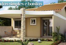 fachadas de residencias