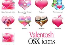 20+ Enchanting Set Of Valentines Day Icons Free Download / by Anthony Pillos