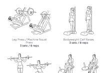 Edzőtermi Gyakorlatok
