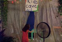 Kids corner wedding