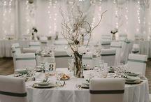 Gray-gold wedding