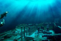 Underwater cities & ruins