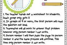Groupwork ideas