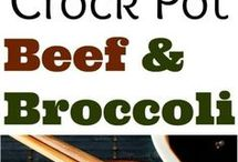 Slow cooker beef