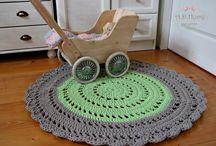 Szydelko, crochet / Szydełko, kosze szydełkowe, koce szydełkowe, dywany ze sznurka, kosze ze sznurka, poduszki na krzesło ze sznurka