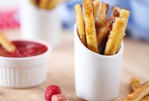 Frites sans pomme de terre / Nos blogueurs ont enfilé leur plus belle toque de cuisine pour vous proposer les meilleures recettes de frites ! Bon appétit ;)