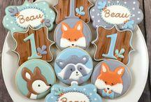 Birthday reynard tema binatang fox