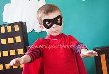 Super Hero 3rd Birthday / by Sassafras Anne