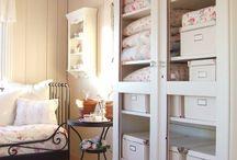 Rouparia / Dicas, truques e soluções para organizar e guardar a rouparia.