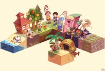 Animal Crossing New Leaf stuff / QR-codes, Selfmade-Screenshots and more