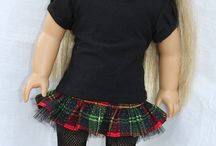 american girl dolls and clothes / by Crystal Carpenter