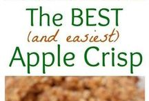 Dessert - Crisps & Crumbles / Love fruit desserts? This board is all about yummy crisps and crumbles!