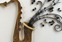 Quilling hangszerek