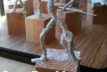 szobor emberi alak