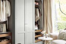 Inbyggd garderob