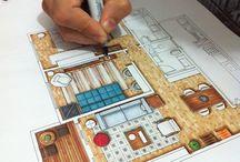 Interior's sketches