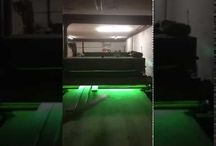 New! UV Oil Curing / Finishing Line