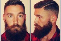 Men's hair!