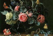 Flowers in Fine Art