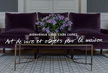 Collections / Chaque année la maison Casa Lopez imagine et produit des tapis en collection fabriqués sur des machines spécifiquement adaptées et produits en petites séries.